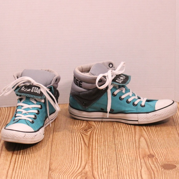53e40dd00d0206 Converse Other - Converse All Star Padded Collar double tongue hi